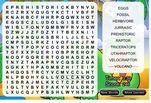 Играть бесплатно в Игра Динозавр ищет слова