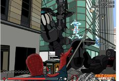 Игра Игра Человек-паук спасает город 2