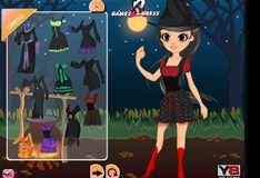 Игра Красивый наряд для ведьмы