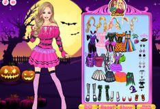 Игра Ночь в Хэллоуин: Барби