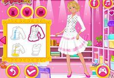 Игра Игра Барби в колледже: Мода