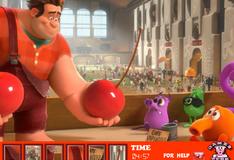 Игра Ральф в боулинге