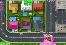 Игра Поездка на машине девочек бурундуков