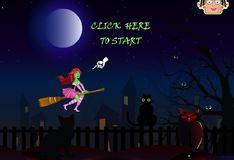 Игра Игра Полет Зои-ведьмы
