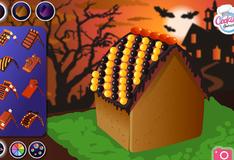 Сладкий домик на Хэллоуин