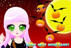 Игра Эмили наряжается на Хэллоуин