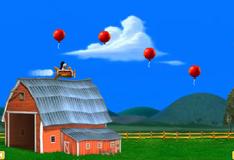 Игра Отис летает на самолете