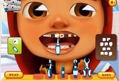 Игра Игра Зубные проблемы Сабвей Серф