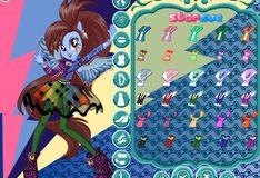 Игра Девушки Эквестрии: Радужный рок - Рок-прическа Радуга Дэш