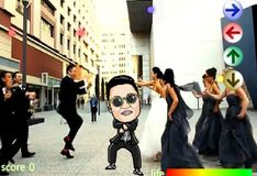 Игра Гангмэн Танцы