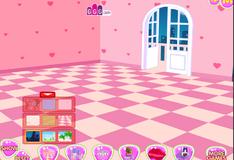 Игра Украшение комнаты на День Святого Валентина