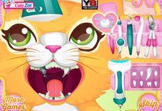 Игра Игра Дорогая Кошечка у стоматолога