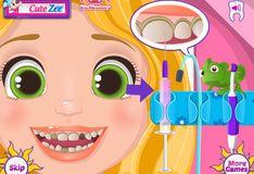Игра Маленькая Рапунцель у стоматолога