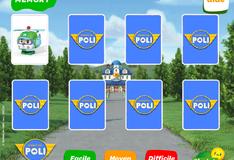 Игра Карты с Робокаром Поли
