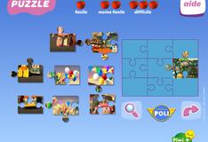 Игра Пазлы с Робокаром Поли