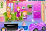 Играть бесплатно в Малышка Хейзел на модной вечеринке