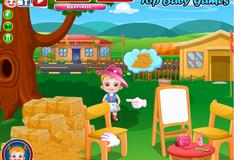 Игра Малышка Хейзел на фестивале урожая