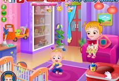 Игра Малышка Хейзкел помогает маме