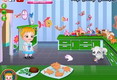 Игра Малышка Хейзел изучает животных