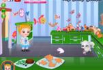 играйте в Малышка Хейзел изучает животных