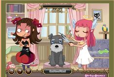 Игра Салон красоты для животных Девелиш