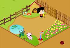 Али на ферме