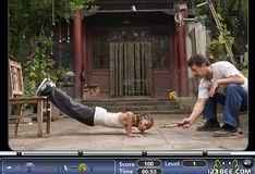 Игра Скрытые объекты: Детское карате