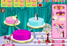 Игра Свадебные торты