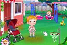 Игра Проведи День с Малышкой Хейзел