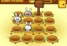 Игра Кролики-захватчики