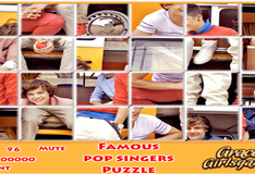 Игра Постеры знаменитых исполнителей