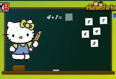 Игра Математика с Хелло Китти