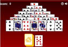 Игра Пасьянс Пирамида