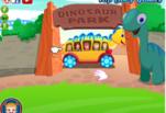 Малышка Хейзел в парке динозавров