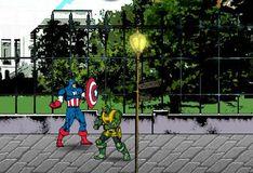 Игра Капитан Америка Красный Череп