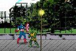 Играть бесплатно в Капитан Америка Красный Череп