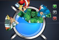 Игра Игра Пазл-торт с командой Мстителей