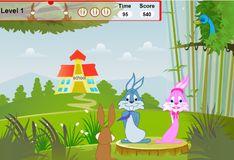 Игра Игра Влюблённые кролики