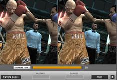 Отличия на фото с боксерского поединка