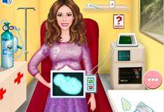 Игра Игра Беременная Виолетта в скорой помощи