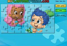 Игра Игра Гуппи и пузырьки: Гил и Молли - Пазлы