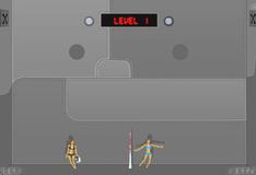 Игра Тряпичные куклы играют в волейбол
