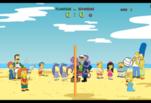 играйте в Стмпсоны играют в волейбол