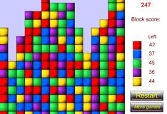 Игра Разноцветные  кубики