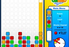 Игра Цветные блоки