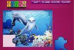 Играть бесплатно в Игра Пазл Дельфины