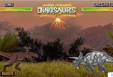 Игра Сражение гигантов: Динозавры