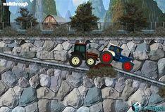 Игра Безумные спортивные тракторы