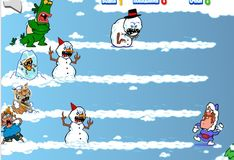 Игра Дядя Деда: Снегодяи