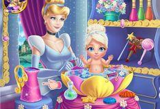 Игра Золушка: Мытье ребенка